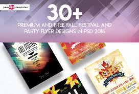 Fall Festival Flyer Free Template 30 Premium And Free Fall Festival And Party Flyer Designs In Psd