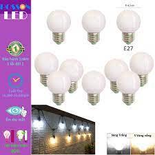 10 Bóng đèn Led 1w bup tròn bulb G45 kín chống nước trang trí ngoài trời  tiết kiệm điện LL-H1x