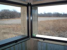 Hinge Window 2  Deer Hunting  Pinterest  Window Deer Hunting Plexiglass Deer Blind Windows