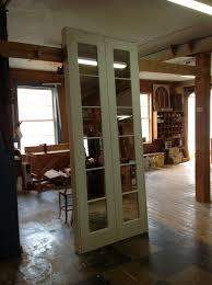 custom wood french door unit interior double
