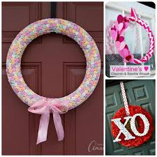 valentine wreaths for your front doorValentine Wreaths to Make 30 DIY wreath crafts for Valentines Day