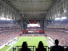 University Of Phoenix Stadium Glendale Az Seating Chart 11 Accurate Az Cards Seating Chart