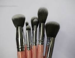 bh cosmetics rose quartz 9 piece brush set review all