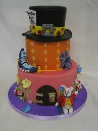 Mad Hatter Cake Designs Amy Beck Cake Design Chicago Il Mad Hatter Birthday