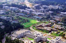 microsoft redmond office. aerial shot of part microsoftu0027s redmond campus microsoft office