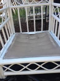 painting rattan furniturePainting Furniture White