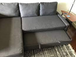 ikea friheten corner sofa bed for