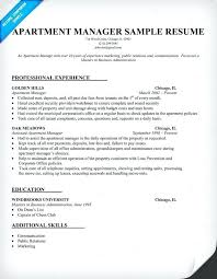 Property Manager Resume New Leasing Manager Resume Assistant