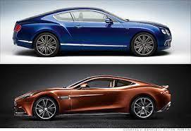 Bentley And Aston Martin Unveil Ultra Fast Cars Jun 21 2012