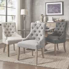 habit solid wood tufted parsons dining chairs set of 2 free with within living room chair set of 2