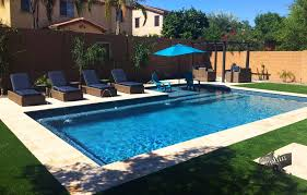 rectangular pool designs with spa. Pool #065 By Dolphin Pools And Spas Rectangular Designs With Spa S