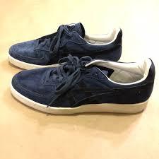 Onitsuka Tiger Asics Navy Suede Gsm Sneaker 9 5