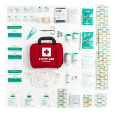 com pieces first aid kit all purpose premium com 90 pieces first aid kit all purpose premium medical supplies and soft case for home office car camping and travel health personal