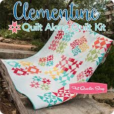 Moda Fabric - Quilting Fabric By Moda : Quilt Kits | Fat Quarter Shop & Clementine Quilt Along Quilt Kit Featuring Mama's Cottage by Moda Fabrics Adamdwight.com