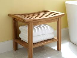 Architecture Bathroom Bench Seat Storage Great Intended For Decor 1  Chandelier With Shade Living Room Table
