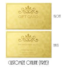 Certificate Templates Make Your Own Gift Certificate