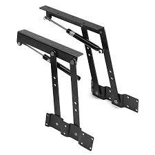 1pair lift up top coffee table lifting frame mechanism spring hinge hardware diy