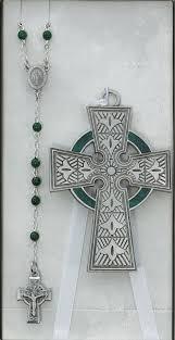 irish crib set with celtic cross rosary baby baptism gifts baby gifts irish
