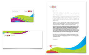 Health Club & Fitness Center Letterheads | Templates & Graphic Designs
