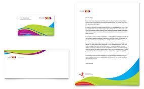 Health Club & Fitness Center Letterheads   Templates & Graphic Designs