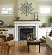 Home Accecories  Stone Fireplace Wall Ideas House Beautifull Houzz Fireplace