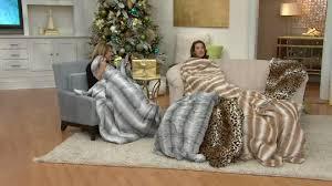 Oversized Heated Throw Blanket