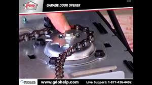 xtreme garage door opener 1 2hp installation