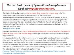 Hydraulic Turbines. - ppt video online download