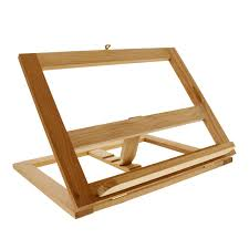 Wooden Book Stand For Display Amazon US Art Supply Large Wooden Bookrack Easel and 52