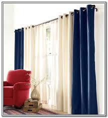 double rod curtains curtain ideas home design pocket sheer double rod curtains