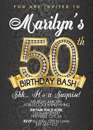 50th Birthday Invitations Templates Inspiring 50th Birthday Party Invitation Templates Free