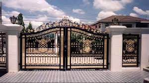 Latest main gates designs for modern homes 2019 catalogue   gate grill design for house   techntweetdoor design for home main door design wooden door design. Modern House Gate Design World Of Architecture 30 Modern Entrance Design Ideas For Your Home Forged Iron Gate Outdoor Black Grey Fence Images Queen