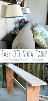 Sofa Table Diy Best 25 Skinny Console Table Ideas On Pinterest Very Narrow