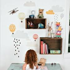 Small Picture Creative wall design with nursery wall decals Interior Design