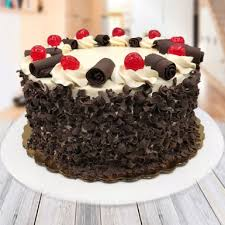 Chocolaty Black Forest Cake Winni