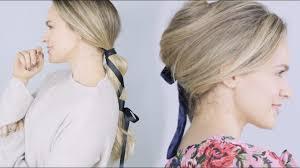 žena In Inspirujte Se Nejkrásnější Vlasové účesy Doplněné Stuhou
