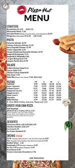 pizza hut full menu. Contemporary Hut In Pizza Hut Full Menu 1