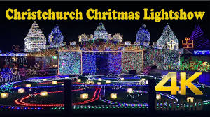 Christchurch Christmas Lightshow Biggest Light Display In New Zealand