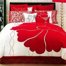 Red Bedroom, Wish this bedspread was mine!
