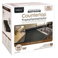 Paint Counter Top Rust Oleum Specialty 1 Qt Countertop Tintbase Kit 246068 The