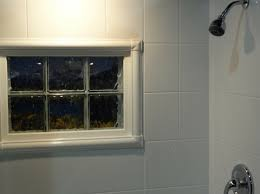 acrylic window trim kit in a shower innovate building solutions