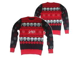 SO M3TAL: Slayer Christmas Sweater | Incredible Things
