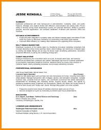 Objectives In Resume Example – Armni.co