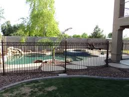 Decorative Pool Fence Arizona Pool Fencing And Gates Swimming Pool Barriers Dcs Pool