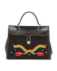 Made In Italy Marguerite Leather Bag ...