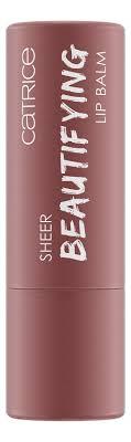 Купить <b>бальзам для губ Sheer</b> Beautifying Lip Balm 4,5г Catrice ...