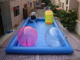 inflatable inground pool slide. Photo Of Inflatable Pool Slide Inground