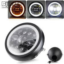 Xe Máy Phụ Kiện 7.5 Inch Đèn Pha 7.5 ''20W/15W Cao/Thấp Bóng Đèn LED LED Đèn  Pha Cho xe Honda Kawasaki Yamaha Suzuki Xe BMW|