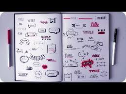 Billedresultat For 50 Cute Ways To Write A Title Sketchbook