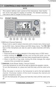 30443x3d Mobile Marine Transceiver User Manual